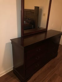 Used Cherry Brown Dresser Need Gone Asap For Sale In