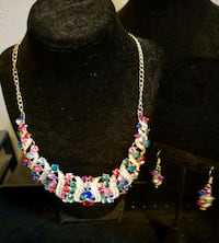 A Beautiful Colorful Necklace & Earring Set Lewisville, 75067