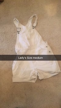 Lady size medium overalls  Brandon, 39047