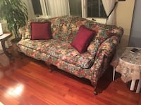 Two flower pattern couches Paramus, 07652