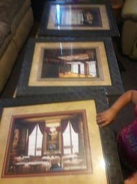 black wooden framed of dining room painting San Angelo, 76903