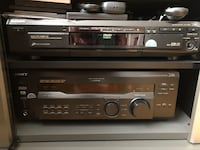 Sony Digital receiver, DVD/ CD changer, stand, sub- woofer for sale.  Mississauga, L4W 2P7
