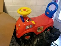 toddler's red and blue ride-on toy Blairsville, 15717