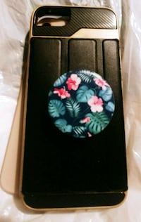 black and pink floral iPhone case Maple Ridge, V2X 9G3