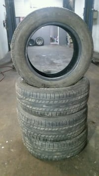 Used set of tires 225-60-17 Kitchener, N2M 3P4