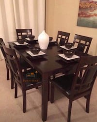 Brand new dining table with 6 chairs Silver Spring, 20902