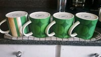 16oz Starbucks Mugs - 4pk Surrey, V3T 5Y1