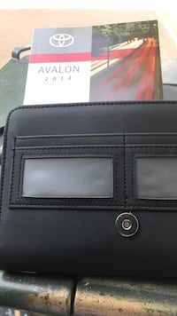black leather bi-fold wallet Woodbridge, 22193