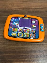 orange and black Vtech tablet toy Toronto, M3J 1W7