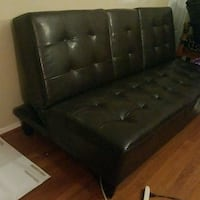 Leatherette Sofa Bed Herndon, 20170