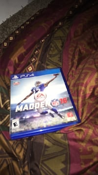 Sony PS4 Madden NFL 16 game case Daphne, 36526