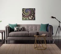 "CONTEMPORARY ART - WALL ART- HOME DECOR - LIMITED RELEASE - EXCLUSIVE DESIGNER ART - NM COLLECTION ""LIFE"" 24x24"" Houston, 77056"