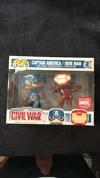 Captain America and Iron Man vinyl figures Thorold, L2V 1P2
