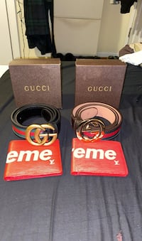 Gucci belt and supreme wallet Woodbridge, 22193