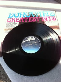 black Donovan's Greatest Hits vinyl record with sleeve TOMSRIVER