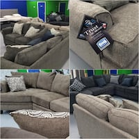 SIMMONS Sofa and Love Set Sets (BRAND NEW!!) $50 Down!!