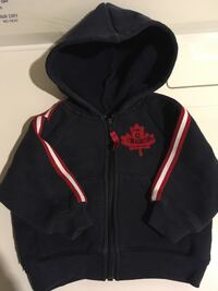 12 mth. Canada hoodie