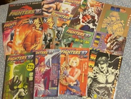 Street Fighter 3/ King Of Fighters '97 Comic Books