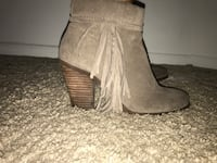 Jessica Simpson gray suede booties Silver Spring, 20904