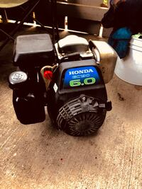 Almost New Honda Gas Motor GC-190 6.0 Vertical Drive, Paid $475 Redding, 96003