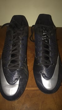 Pair of black nike football cleats  Mooresville, 28117