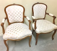 French Provincial Upholstered Arm Chairs  Rockledge, 32955