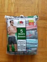 Mens Fruit of the Loom Medium Boxers Toronto, M3A 1E3
