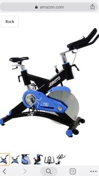 Brand New blue indoor Exercise Bicycle Cypress, 77429