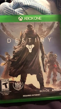 Destiny Xbox 360 game case