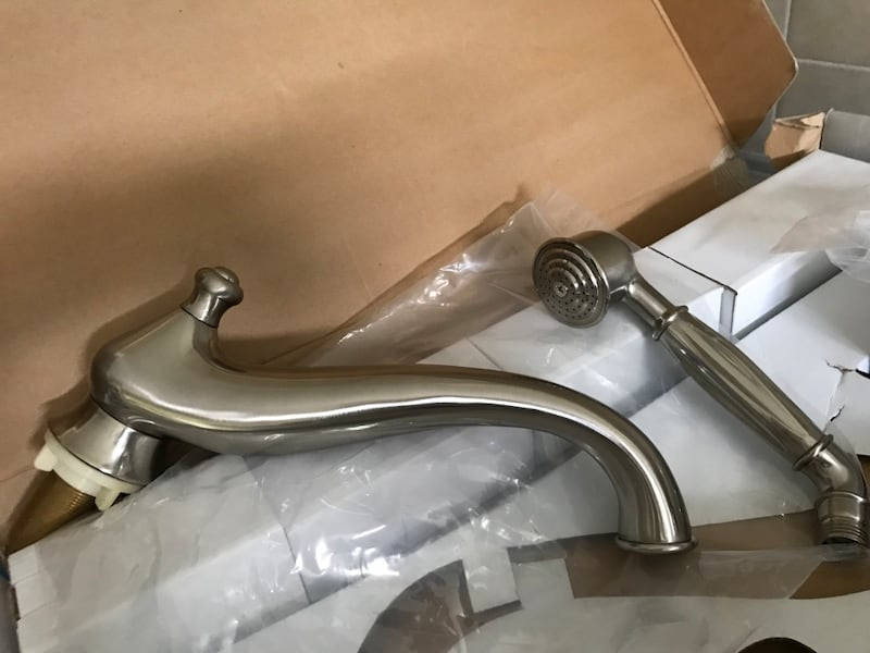NEW Pewter Roman Tub Taps  PRICE REDUCED $400 new  3 units leftover 9553c2a2-c0c2-4035-aa89-048a28894f78