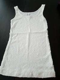Old Navy White sequin tank