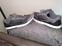 pair of black-and-white running shoes Atlanta, 30305