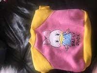 Daisy Duck football jacket for little puppy!  Coquitlam, V3K 5K8