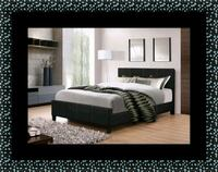 Full platform bed with box spring College Park