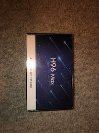 H96 Max Android TV Box  Mississauga, L5N