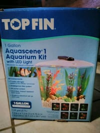 Two 1-gallon Aquariums with Accessories