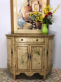 Fabulous Hand Painted Buffet Server Bar Table (Delivery Service Available) Boynton Beach, 33436