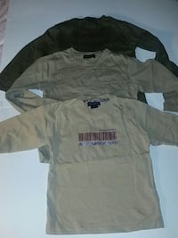 3 Burberry shirt size 4