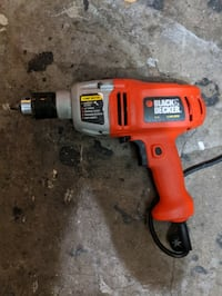 Black and Decker 6 amp drill