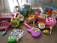 Large assortment of kids toys and books Ottawa, K2S 0S6