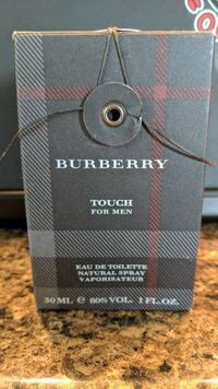 30-ml. Burberry Touch for Men perfume box Saint Joachim, N0R 1S0
