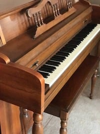 brown and black upright piano Woodbridge, 22192