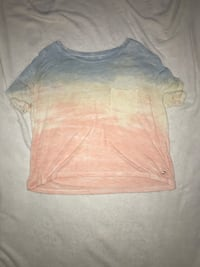 Blue yellow and pink soft and sexy t-shirt  22 mi