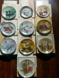 Collectible Plates (EUC)  Georgina, L4P