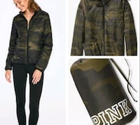 VS Pink Camo Jacket *NEW WITH TAGS* London
