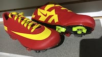 Red-and-yellow Nike cleats Vienna, 22180