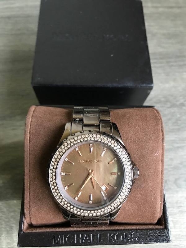 Brown Micheal Kors Lady Watch