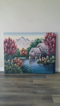 Large Canvas Painting.