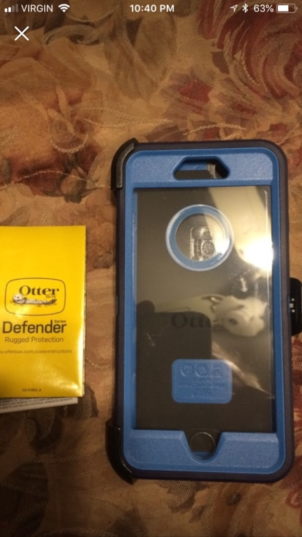 Blue otter box I phone 6 s case 6764a523-527f-446b-ac74-9979dbd7aa79