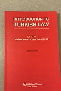 Introduction to Turkish Law , 06520